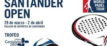 Inscritos y ranking masculino World Padel Tour Santander 2017