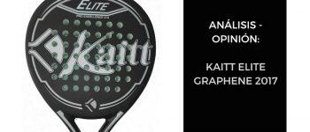 Análisis y Opinión KAITT ELITE GRAPHENE 2017