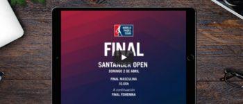 Finales World Padel Tour Santander 2017 en directo y online