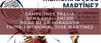 Campeones Previa Memorial José Martínez Challenger 2017