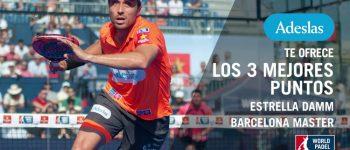 Los 3 mejores puntos masculinos del Barcelona Máster 2017
