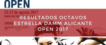Resultados octavos de final World Padel Tour Alicante 2017
