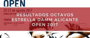 Resultados octavos de final World Padel Tour Alicante 2017