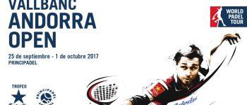 Cuadros y Horarios World Padel Tour Andorra 2017