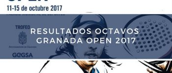 Resultados octavos de final World Padel Tour Granada 2017
