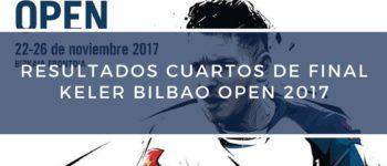 Resultados cuartos de final World Padel Tour Bilbao 2017