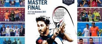 Parejas y ranking masculino Master final World Padel Tour 2017