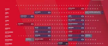 Calendario oficial World Padel Tour 2018