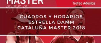 Cuadros y horarios Máster World Padel Tour Cataluña 2018