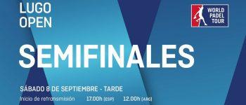 En directo y online semifinales World Padel Tour Lugo 2018