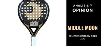 Análisis y Opinión Middle Moon Eclipse 5 Carbon Gold 2019