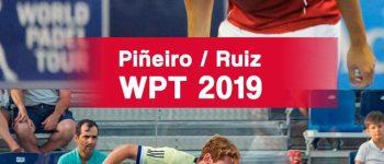 Martín Sánchez Piñeiro - Alex Ruiz, nueva pareja World Padel Tour 2019