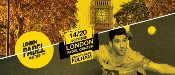 Londres acogerá un Master World Padel Tour en 2019
